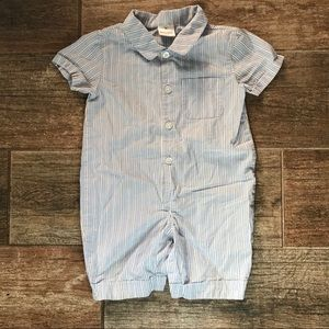Hanna Andersson baby boy Easter spring outfit